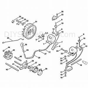 Stihl 020 Chainsaw  020  1114   Parts Diagram  Ignition