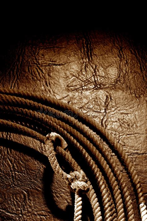 american west rodeo cowboy lariat lasso background stock