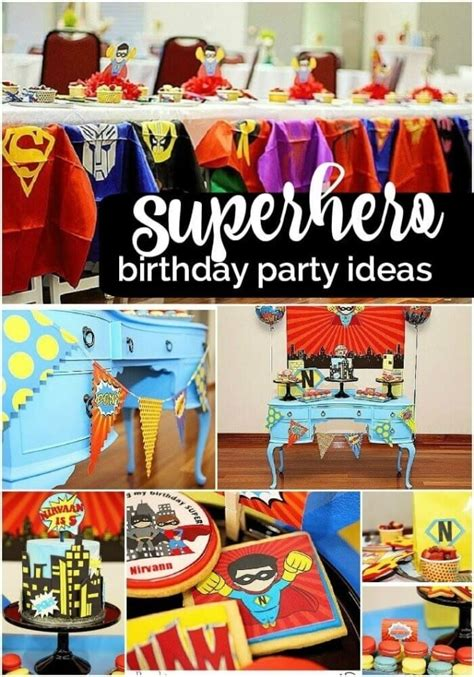 awesome batman  superman party ideas spaceships