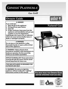 Genesis Platinum C Manuals