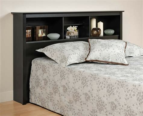Size Bed With Bookcase Headboard by Sonoma Size Bed Bookcase Headboard