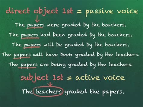 How To Avoid Using The Passive Voice 8 Steps (with Pictures