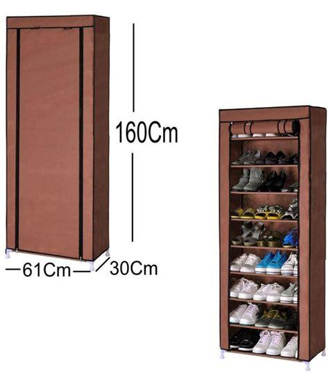 shoe rack portable collapsible fabric  layer  grid folding foldable shoe rack storage