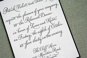 Impressive handwritten wedding invitations theruntimecom for How to handwrite wedding invitations