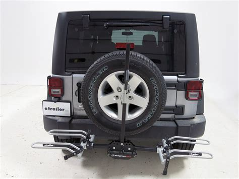 jeep wrangler unlimited swagman xtc   bike platform