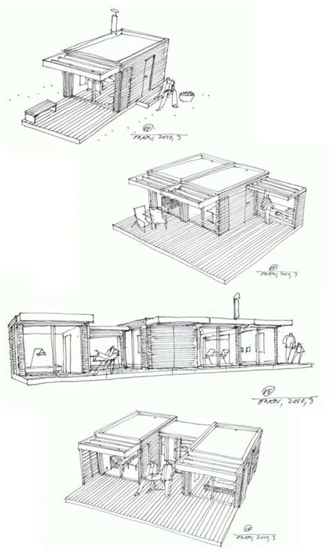small prefab mini house  prefab cabins