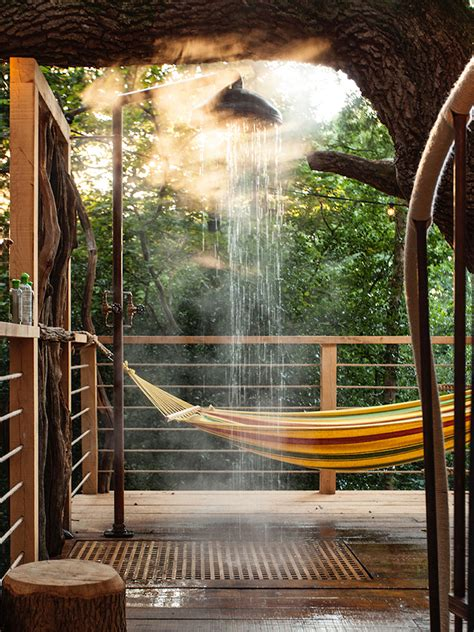 woodsmans dream glamorous modern treehouse redefines