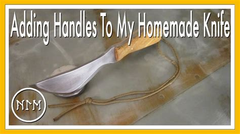 Adding Handles To My Homemade Knife  Youtube. Copper Kitchen Sinks. Over The Sink Kitchen Light. Kitchen Sinks Double. Kitchen Sink Valve