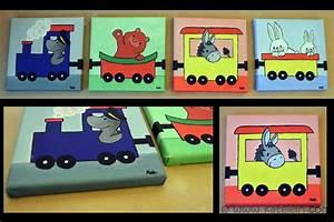 Bilder Fürs Kinderzimmer Leinwand : lustiger tiertransport tolle bilder auf keilrahmen f rs kinderzimmer ~ Markanthonyermac.com Haus und Dekorationen