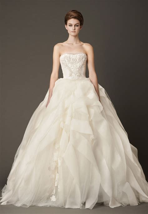 Dressybridal Vera Wang Fall 2013 Ruffled Wedding Gowns