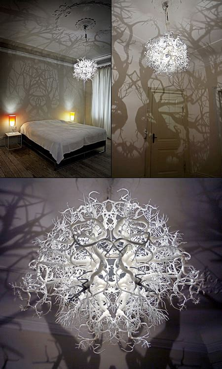 Chandelier Forest by Creepy Chandelier L Turns Your Room Into A Shadowy