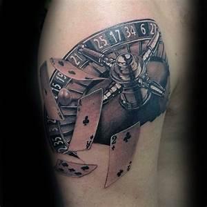 Kleine Männer Tattoos : 90 spielkarte tattoos f r m nner lucky design ideen ~ Frokenaadalensverden.com Haus und Dekorationen