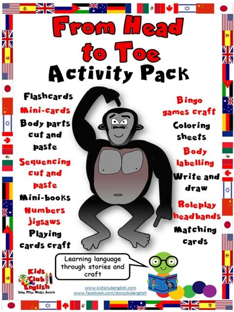 From To Toe new from to toe activity pack mindingkids