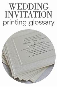 The different styles of wedding invitation printing for Wedding invitation printing styles