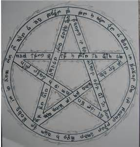 Wiccan Pentagram Tattoo