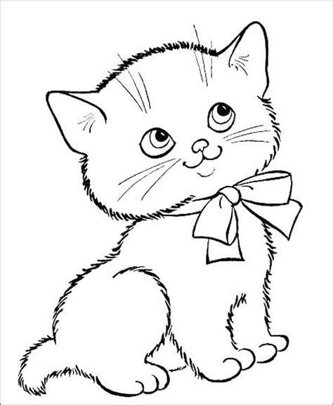 20 gambar kucing lucu untuk mewarnai goldenmaze