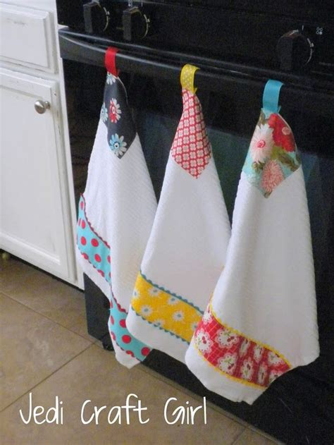 Kitchen Towels by Kitchen Towel Ribbon Loop With Velcro So You Can