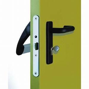kit tw bm poignee serrure antipanique ninz 4204301031 With porte de garage sectionnelle avec serrure anti panique