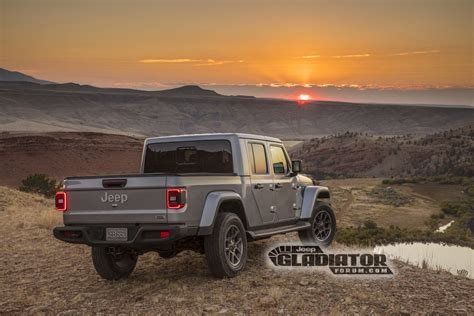 2020 jeep wrangler truck 2020 jeep gladiator this is it the wrangler