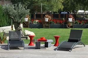 Chalet De Jardin Contemporain : photo terrasse balcon veranda d co photo ~ Premium-room.com Idées de Décoration