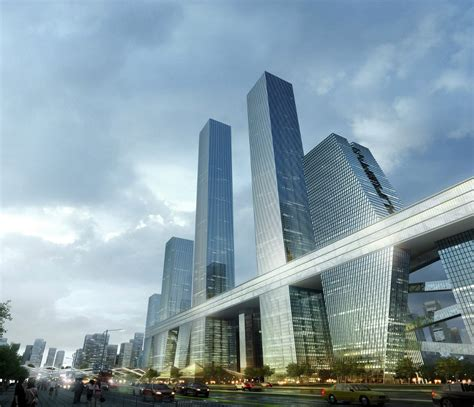 shenzhen bay super city competition unit archocom