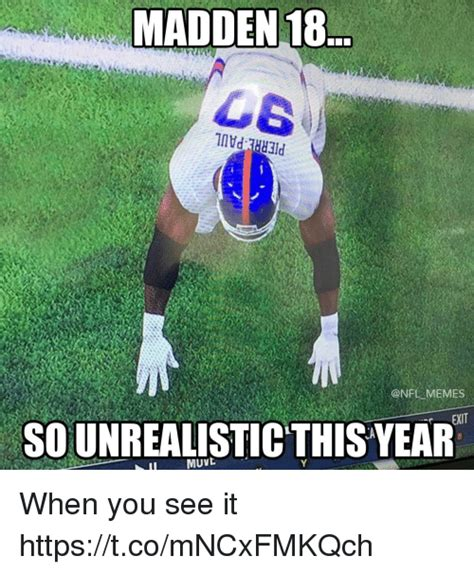 Madden Meme - 25 best memes about when you see it when you see it memes