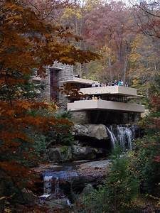 Large Photographs of Fallingwater (Kaufmann house above ...