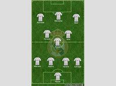 Real Madrid CF Spain Football Formation