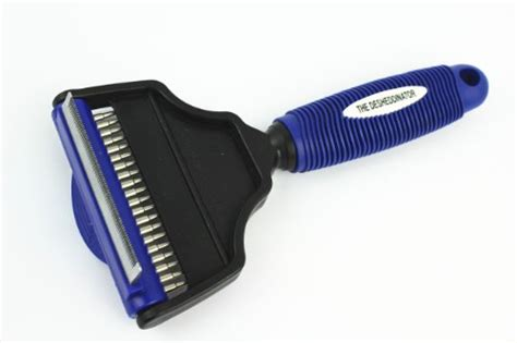 Grooming Tools For Matted Hair - the desheddinator medium 2 in 1 comb brush by pet