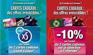 Spirit Of Cadeau Enseignes : carte cadeau illicado geant casino ~ Nature-et-papiers.com Idées de Décoration