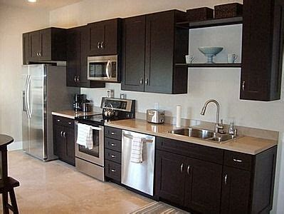 one wall galley kitchen design one wall kitchen garage apartment plan in 2018 7173