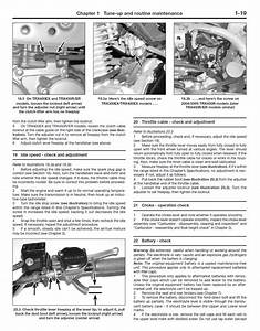 Honda Trx300  Trx400  Trx450  Trx450 Repair Manual 1996