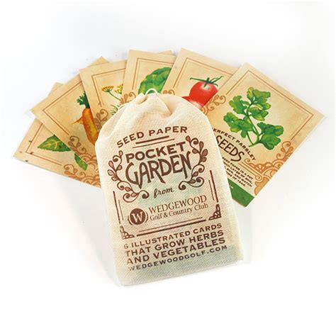 Pocket Garden Promotional Product  Confetti & Gift Packs