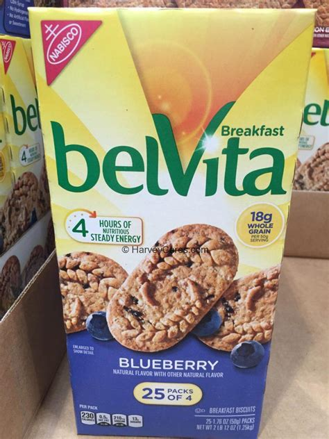 belvita blueberry breakfast biscuit cookies harvey  costco