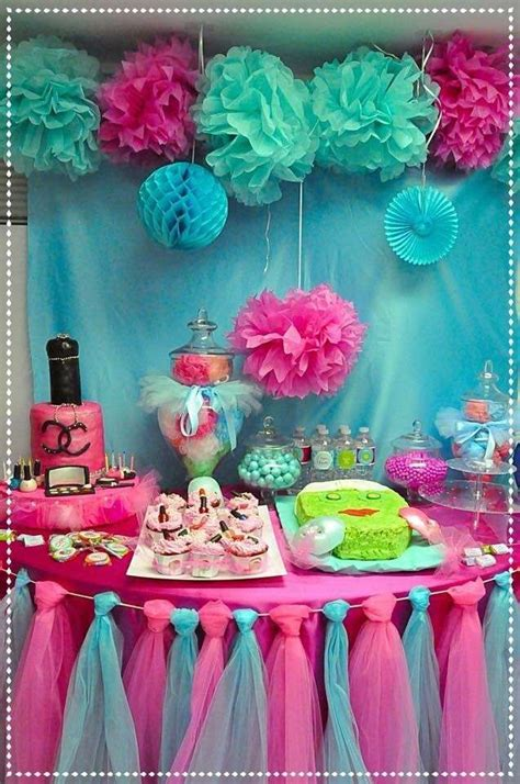 spa party birthday party ideas   spa party ideas