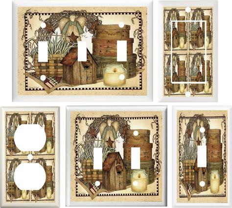 home decor outlet country birdhouse baskets home decor light switch