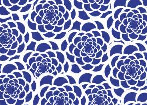 Blue & White Flower Background Free Stock Photo - Public ...