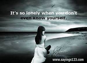Quotes About Sadness And Loneliness. QuotesGram