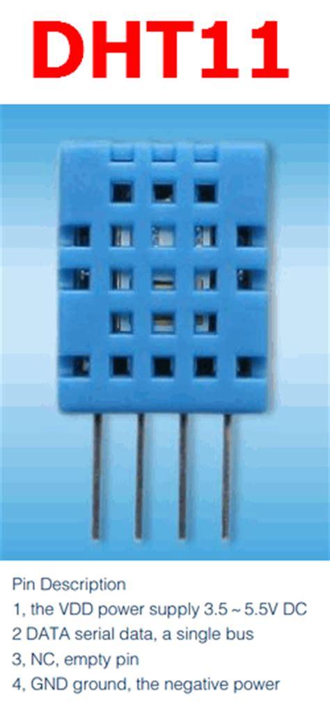 dht11 datasheet humidity temperature sensor