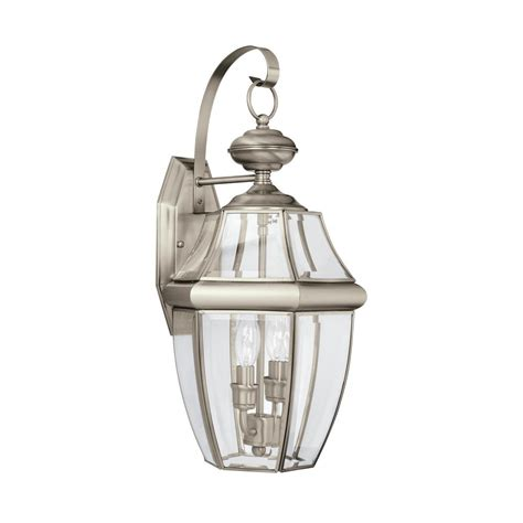 sea gull lighting lancaster  light antique brushed nickel