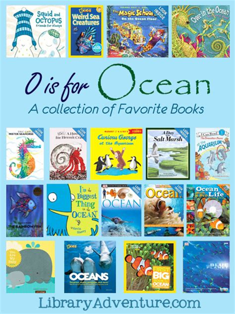 o is for book list 914 | O is for Ocean A collection of favorite books