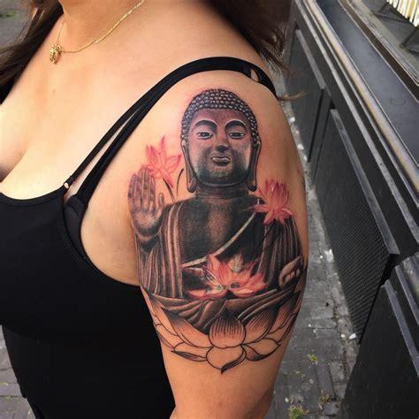 Tatouage Bouddha Avant Bras Homme