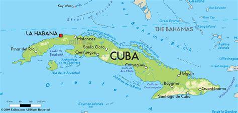 road map  cuba  cuba road maps