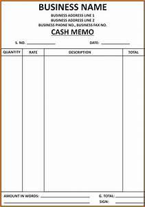 writing a bill template