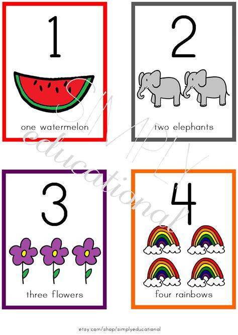 Printable Numbers 1 10 Flashcards  Uma Printable