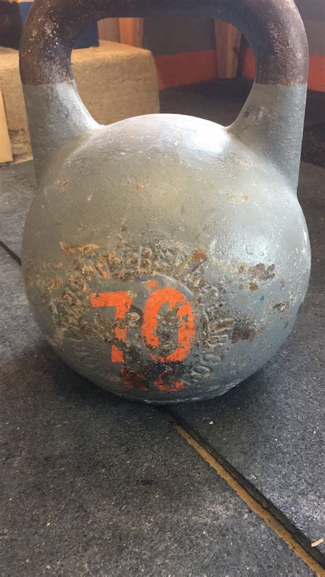 kettlebell heaviest competition second 70kg comments