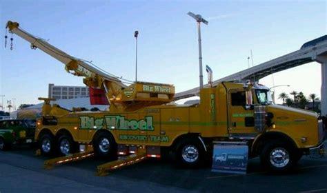 big rig tow truck big boy toys pinterest