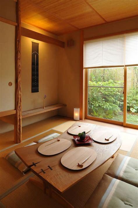 Modern Designs Revolving Around Japanese Dining Tables
