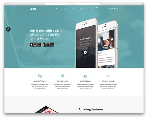 Website Themes 40 Themes For It Companies And Tech Startups