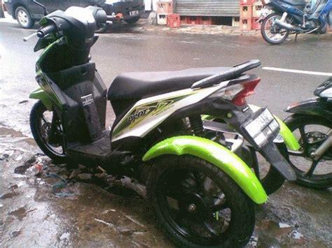Motor Roda Tiga Modifikasi by Modifikasi Motor Roda Tiga Modifikasi Motor Kawasaki